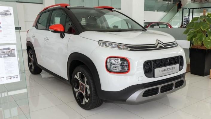 2019 Citroën New C3 AIRCROSS SUV Exterior 003