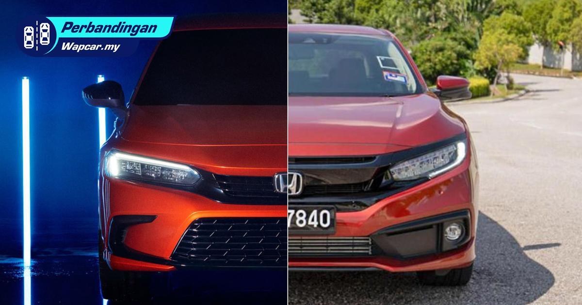 Honda Civic 2021 serba baru – Baru vs lama, lagi power atau tak? 01