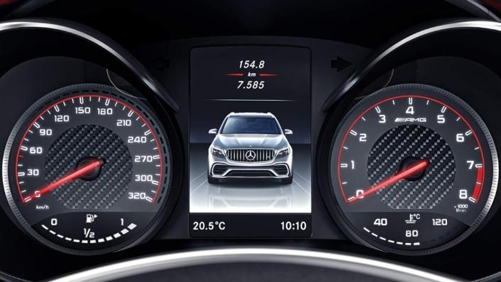 2018 Mercedes-Benz AMG GLC 300 Coupe AMG Line Interior 007