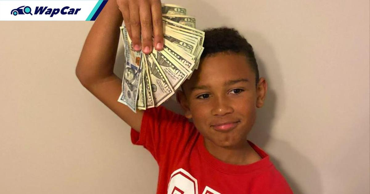This kid found $5,000 worth of cash when cleaning family's new used car 01