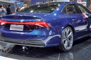 China-only LWB 2021 Audi A7L unveiled in Auto Shanghai, longer wheelbase than A8