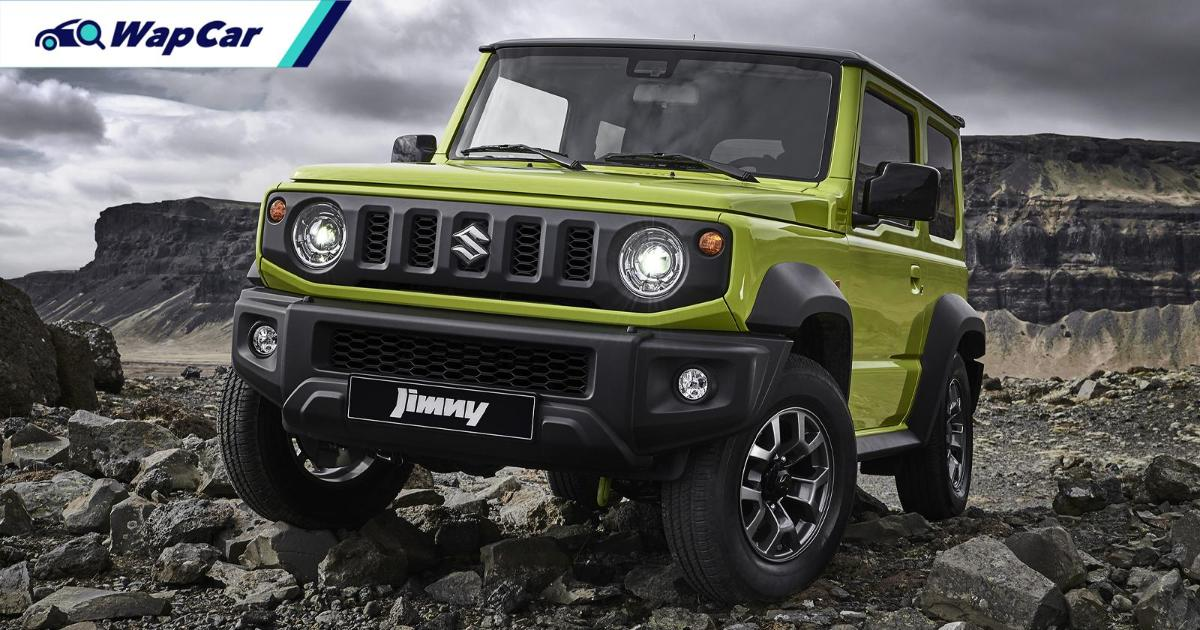 In Aussie, Japan, and Indonesia, a used Suzuki Jimny is more expensive than a brand-new unit 01