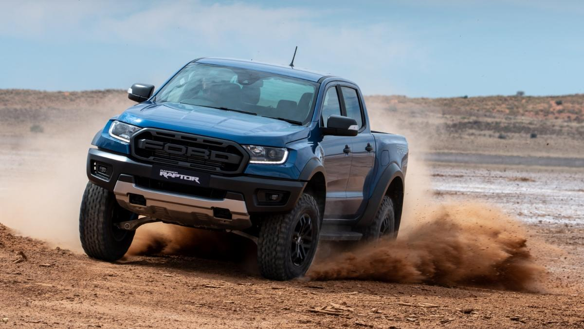 Ford Ranger Raptor inspired by racing technology