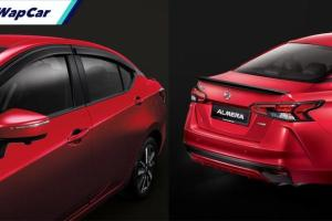 Serlahkan Nissan Almera 2020 anda dengan aksesori tambahan rasmi!