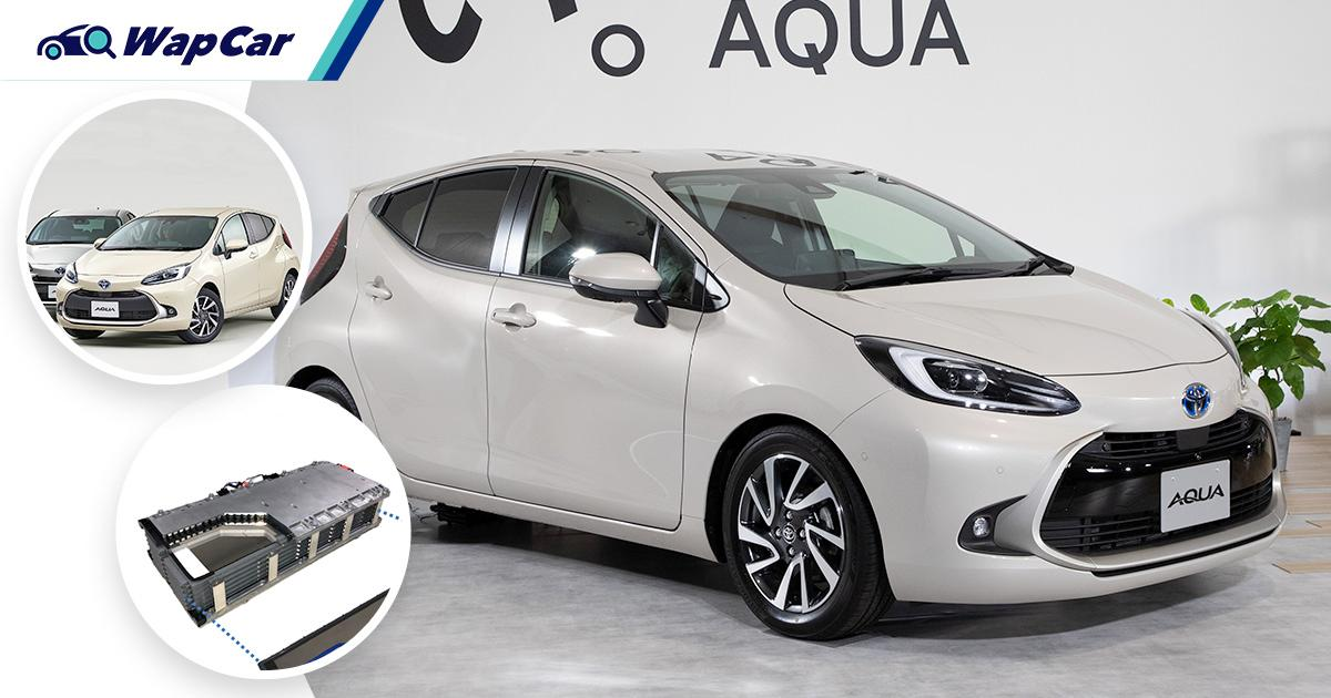 All-new 2021 Toyota Prius C (Aqua) launched in Japan – Now with bipolar battery and self-parking 01