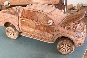 Wooden you want a wooden Ford Ranger Raptor for your tough needs?