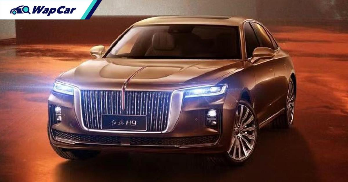 Hongqi H9 is now exported to Korea, this is not a joke 01