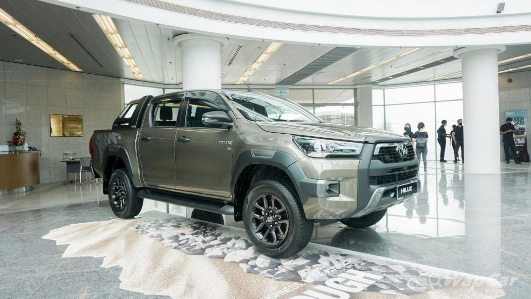 2020 Toyota Hilux Double Cab 2.8 Rogue AT 4X4 Exterior 061