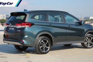 Warna Amazon Green digugurkan untuk Perodua Aruz, Toyota Rush terkesan?