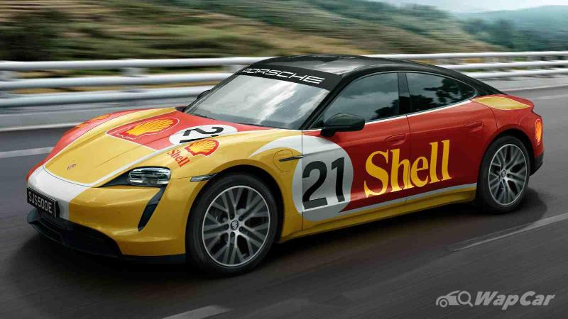 With Shell's DC fast chargers, you can drive a Porsche Taycan from Penang to Singapore 02