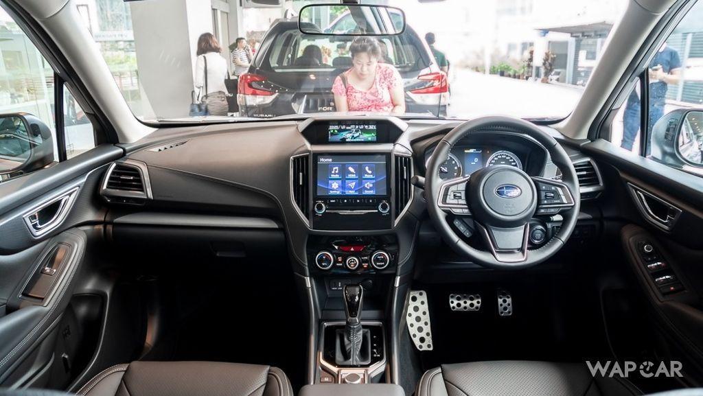 Subaru Forester (2019) Interior 001