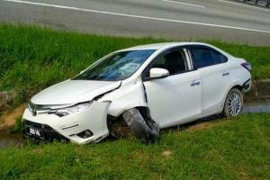 Woman's Toyota Vios summoned in accident 1 year after it was declared a total loss