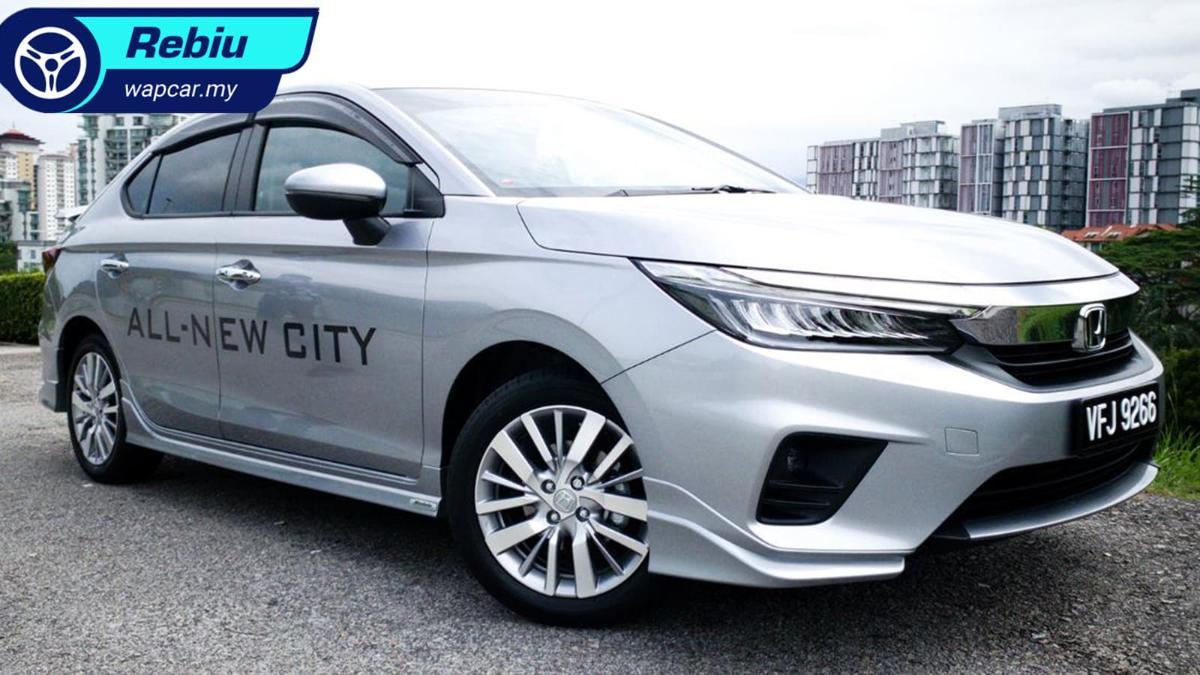 Rebiu ringkas: Honda City 1.5L 2020 – kereta keluarga kompak yang cukup baik? 01