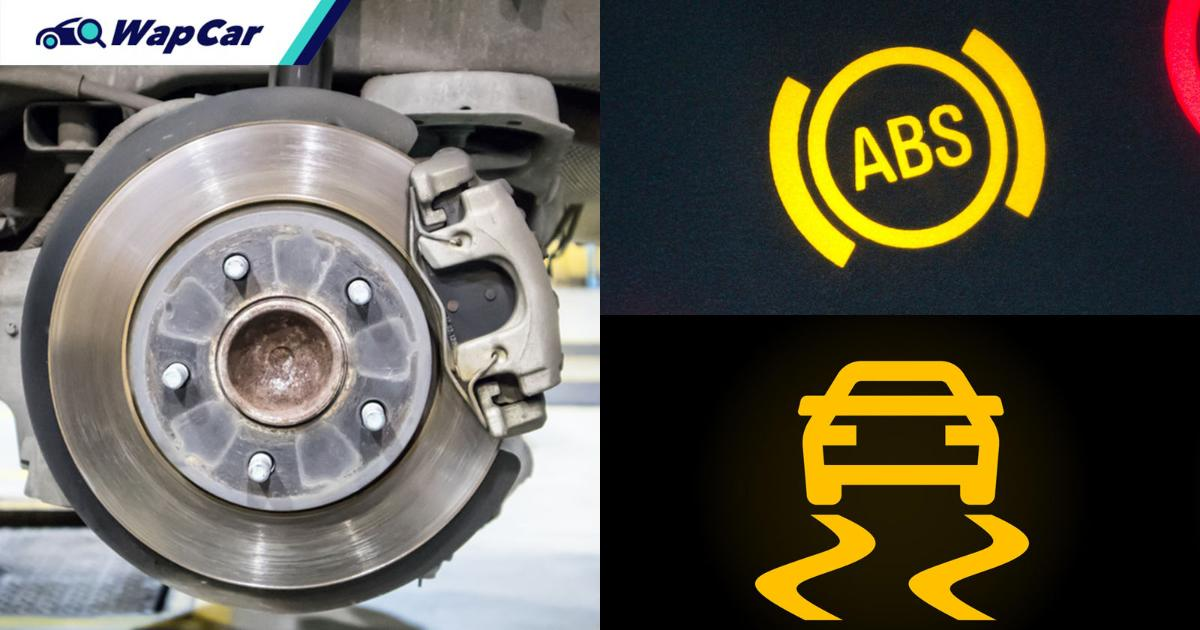 Why is my ABS warning light on? And what is a wheel speed sensor? 01