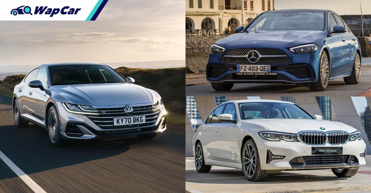 Never mind a 3 Series/C-Class, a VW Arteon is a better Audi but VW can't say that 01