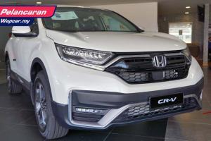Honda CR-V facelift 2021 – dari RM140 ribu, LaneWatch untuk semua varian!