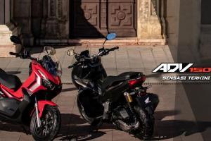 Brosur Honda ADV 150 2021 bagi pasaran Malaysia bocor, dua warna menarik!