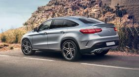 2018 Mercedes-Benz GLE Coupe GLE 400 4Matic Coupe AMG Line Exterior 009