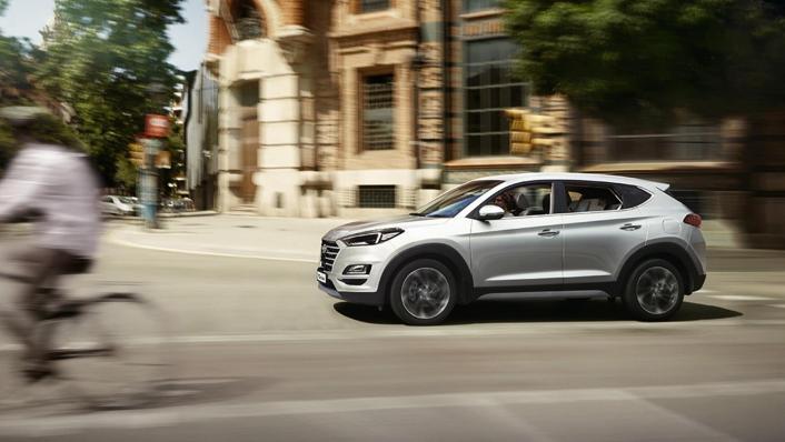 Hyundai Tucson (2018) Exterior 006