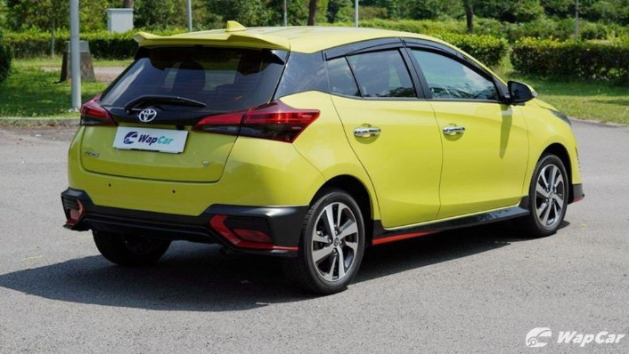 2019 Toyota Yaris 1.5G Exterior 005