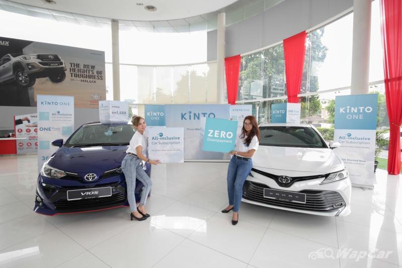 Nak langgan Toyota serendah RM 1,678 sebulan? Anda boleh dengan pelan Kinto One! 02