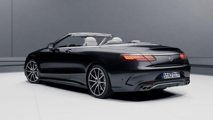 Mercedes-Benz S-Class Cabriolet (2018) Exterior 008