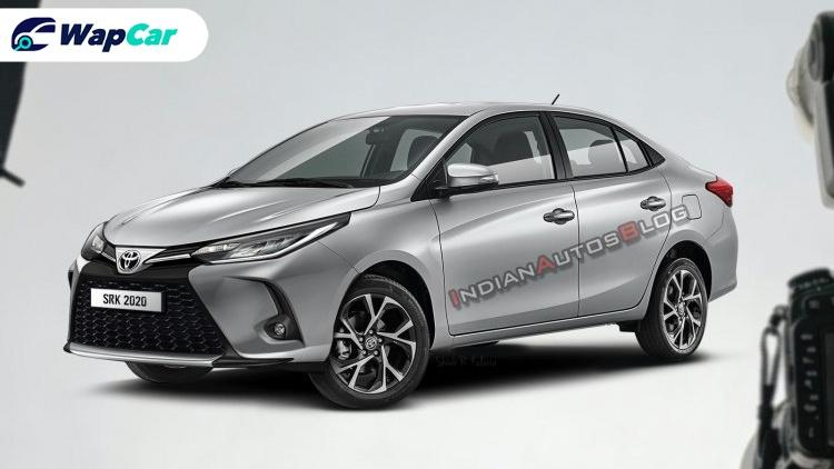 Toyota Vios facelift rendered, do you like the Lexus-esque grille? 01