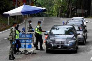 CMCO Round 2: PDRM to set up roadblocks around Selangor, KL and Putrajaya