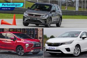 Perbandingan kos 'maintenance': Proton X50, Honda City, Mitsubishi Xpander – mana paling murah?