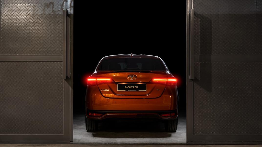 2021 Toyota Vios 1.5E Exterior 012