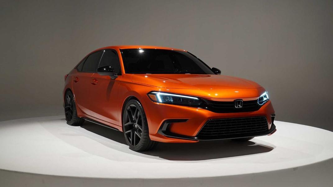 2021 Honda Civic International Version Exterior 003