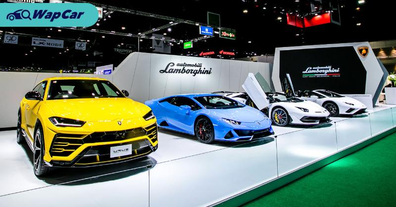 Live Photos: 2020 Lamborghini Aventador SVJ Roadster, Huracan Evo, and Urus showcased in Bangkok 01