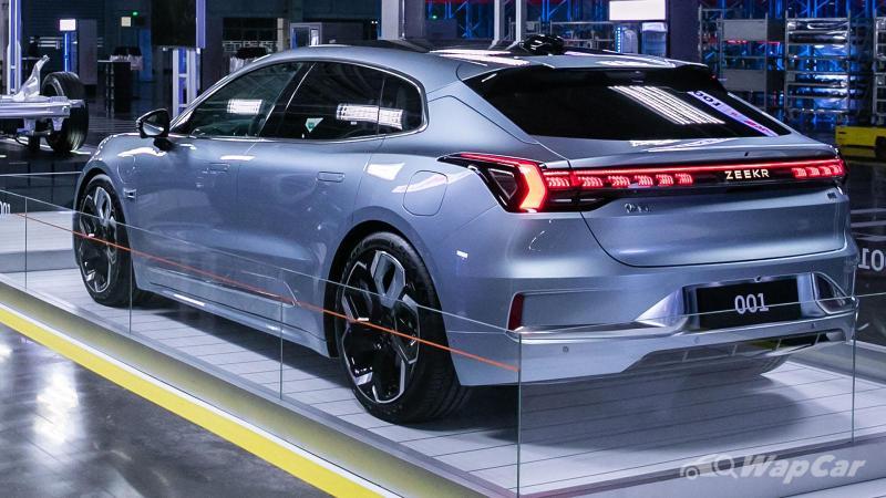 Geely's premium EV, the Zeekr 001 debuts in China, around RM177k 02