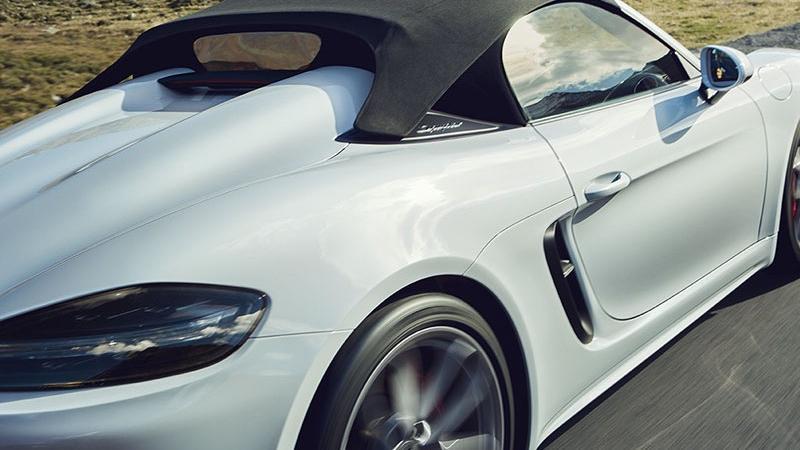 2019 Porsche 718 718 Spyder Exterior 007