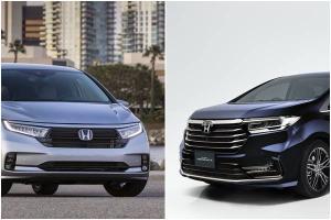 2021 Honda Odyssey, USA vs Japan - two very different cars, same name