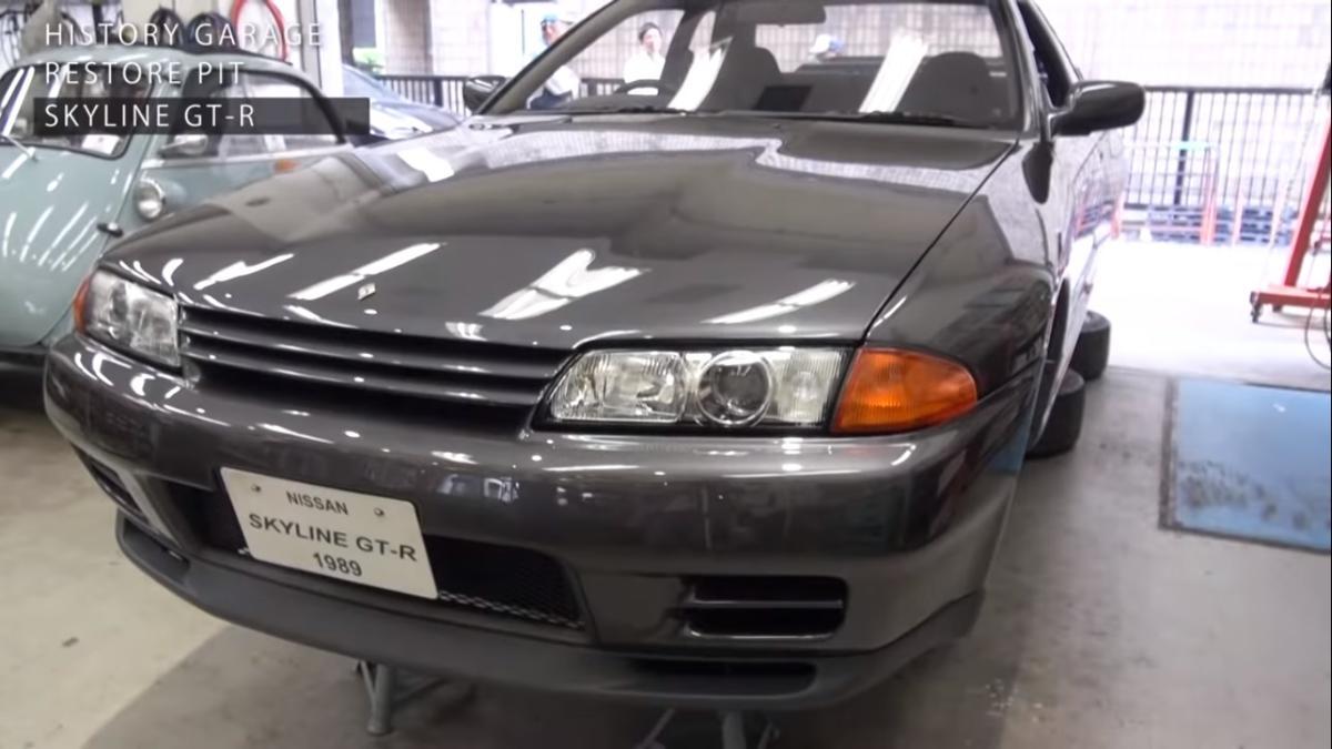Toyota's museum restores an R32 Nissan Skyline GT-R 01