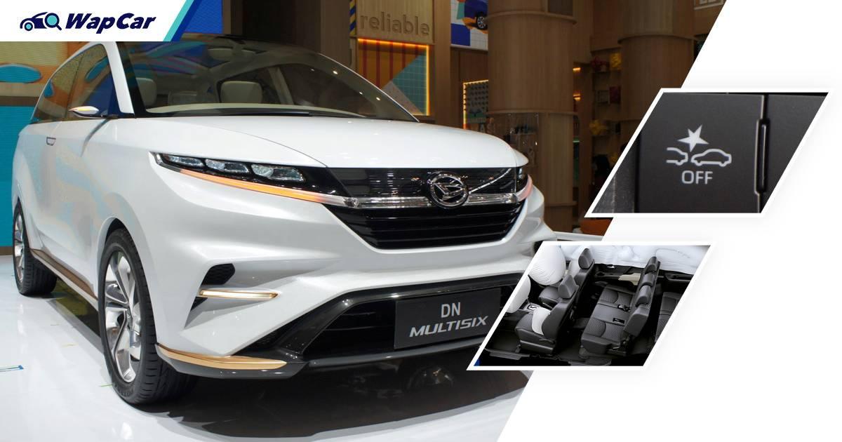SAH! Toyota Avanza 2022 serba baru lebih selamat daripada BR-V & Xpander - 6 beg udara, AEB 01