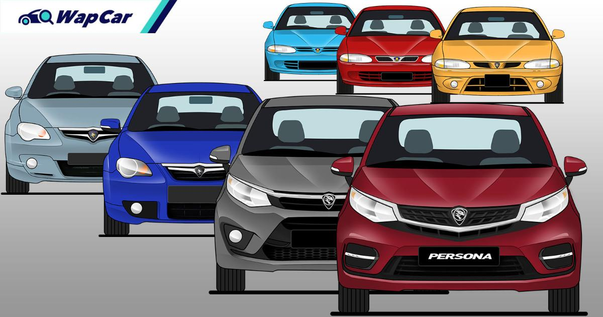 Evolution of the Proton Persona in 27 years – Will it ever match the City and Vios? 01