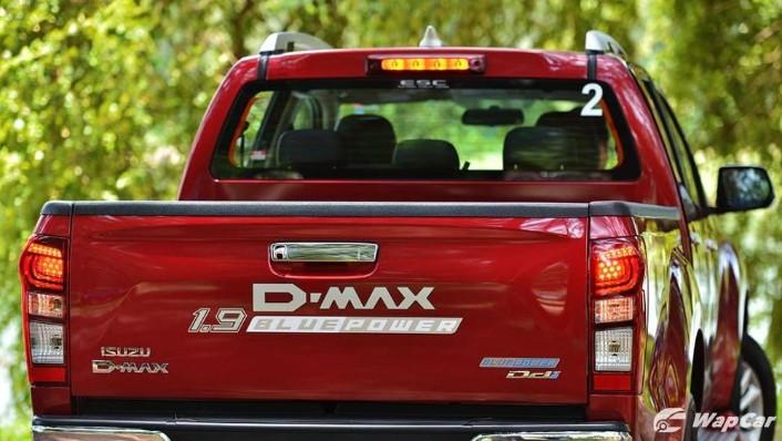 2019 Isuzu D-MAX 1.9L 4x4 AT-P Exterior 010