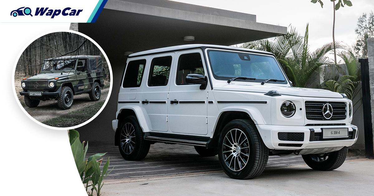 Here's how the Mercedes-Benz G-Class went from army general to a plaything for the rich 01
