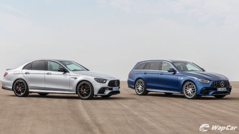 New 2020 Mercedes-AMG E-Class facelift goes on sale. In Germany. 02