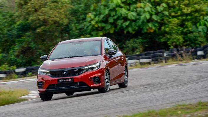 2020 Honda City RS 1.5 Hybrid Exterior 002