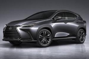 TNGA-based all-new 2022 Lexus NX debuts; new 2.4L turbo, brand's first-ever PHEV