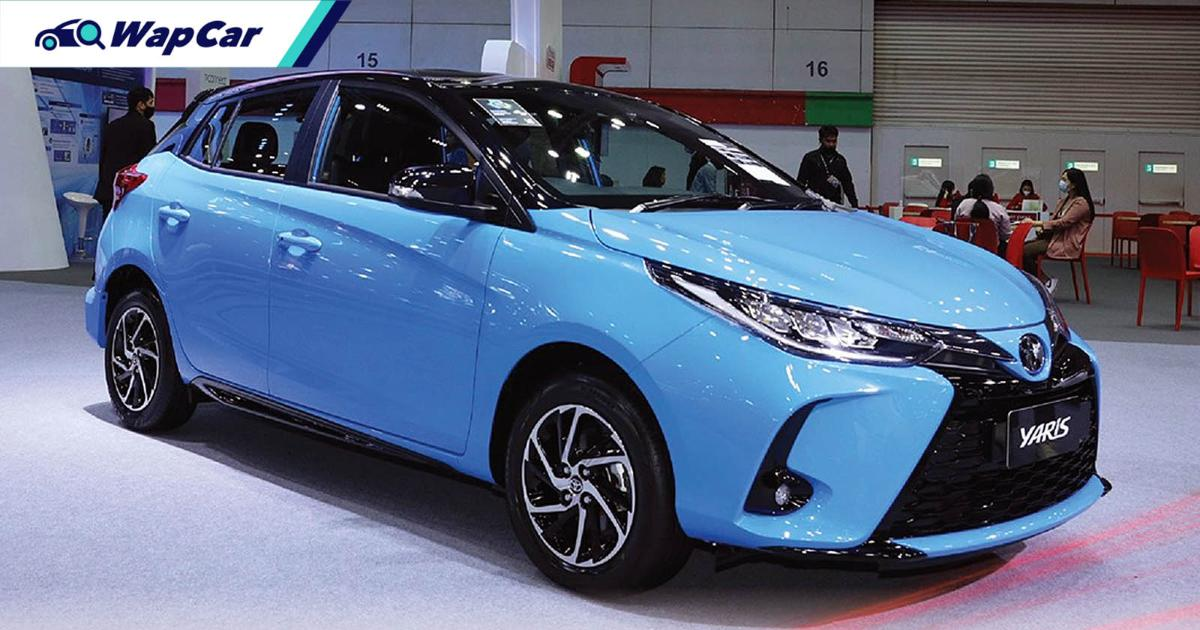 Toyota Yaris outsells Honda Jazz in Thailand in 2020, but for how long more? 01