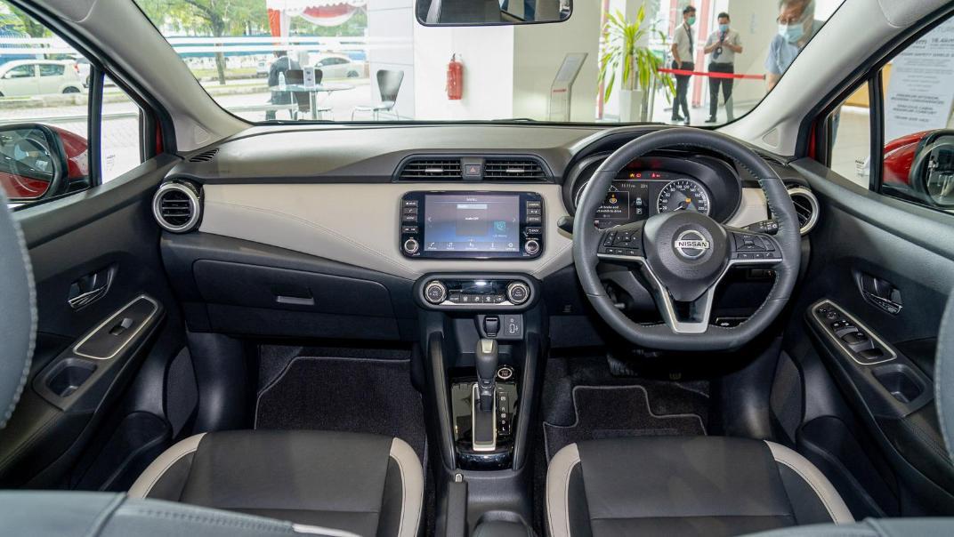 2020 Nissan Almera 1.0L VLT Interior 001