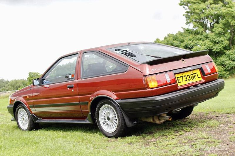This Toyota Corolla AE86 sold for RM 270k in UK auction and was nearly scrapped off 02