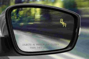 Do you know where are the blind spots on your car?