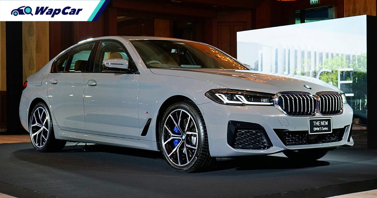 G30 2021 BMW 5 Series facelift (LCI) in Malaysia; from est. RM 343k, ACC with Stop&Go, Laserlight 01