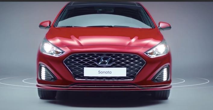 Hyundai Sonata (2017) Exterior 003