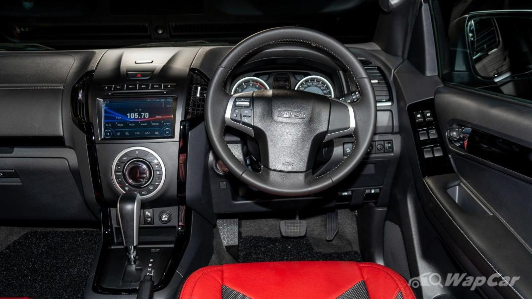 2020 Isuzu D-Max Stealth 1.9L 4×4 AT Interior 003
